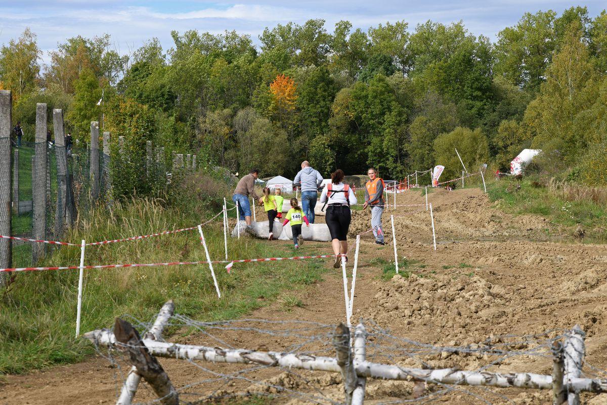 Běžecký terénní závod přes překážky Race for Juniors Rokycany c