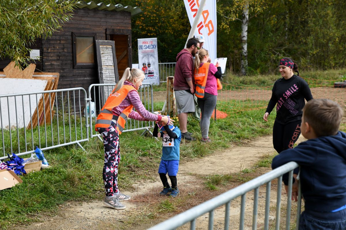 Běžecký terénní závod přes překážky Race for Juniors Rokycany e