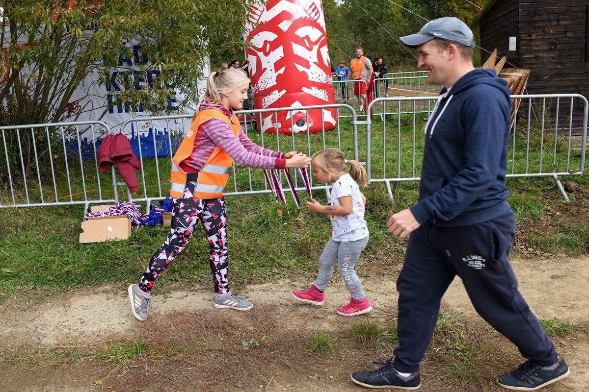 Běžeckýc terénní závod přes překážky pro děti Race for Juniors Rokycany a