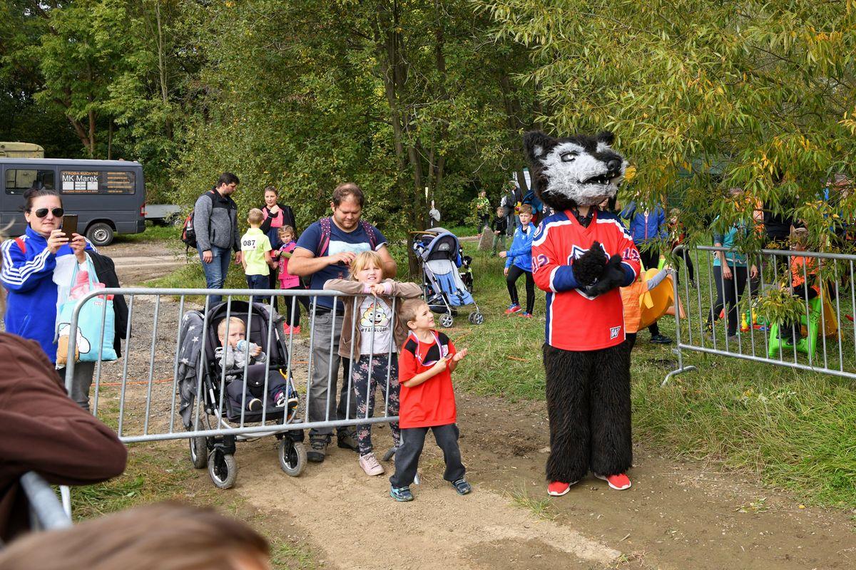 Běžecký terénní závod přes překážky pro děti Race for Juniors Rokycany b
