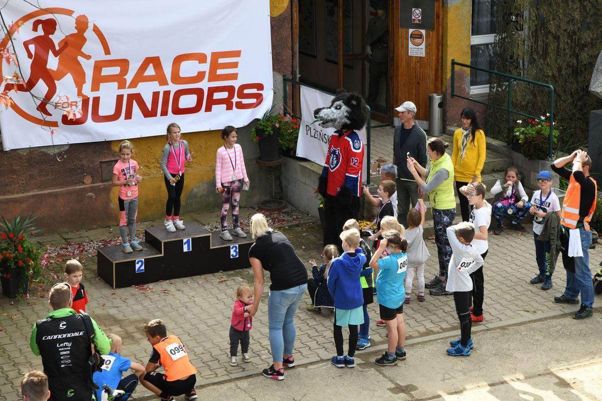 Běžecký terénní závod přes překážky pro děti Race for Juniors Rokycany ba