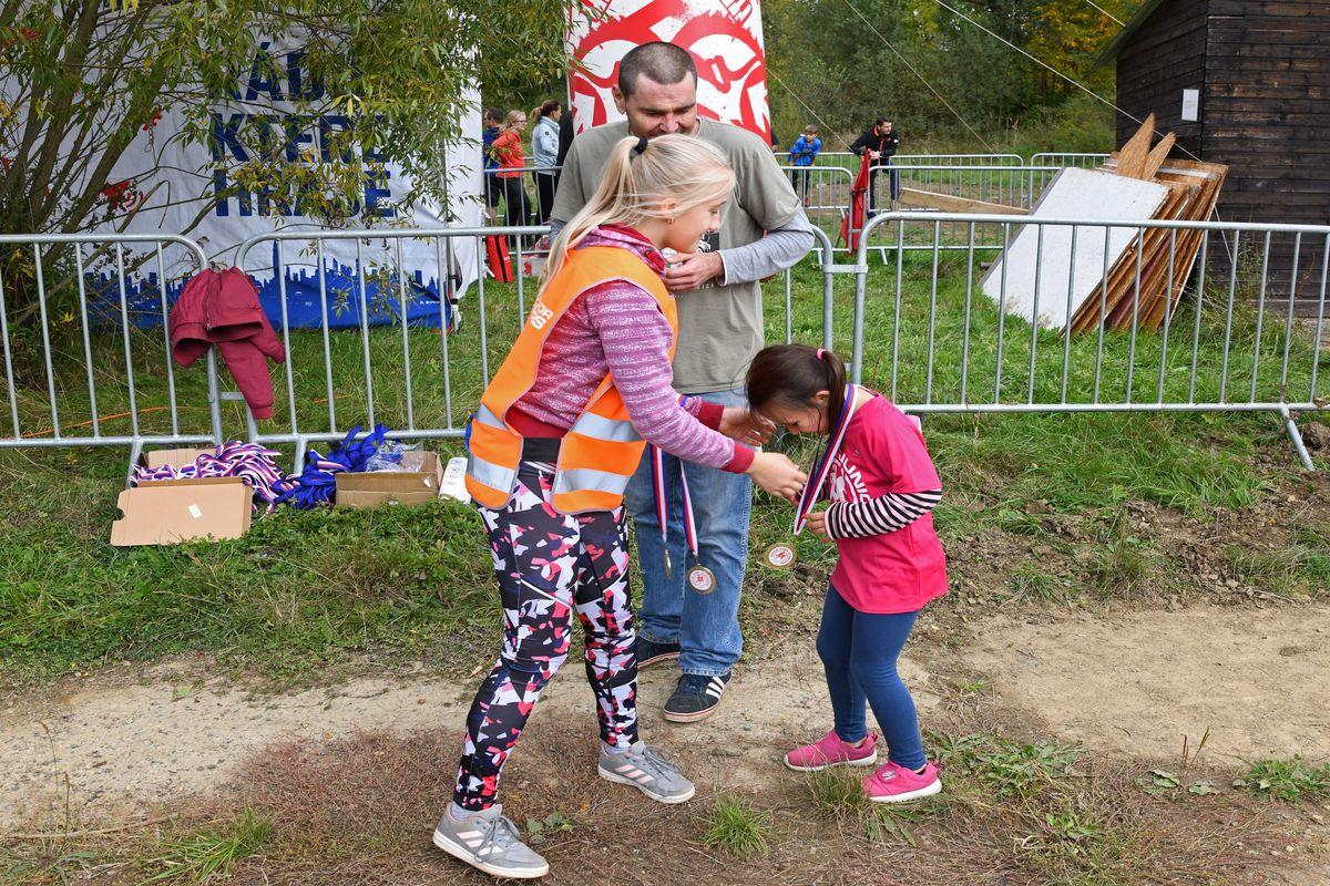 Běžecký terénní závod přes překážky pro děti Race for Juniors Rokycany d