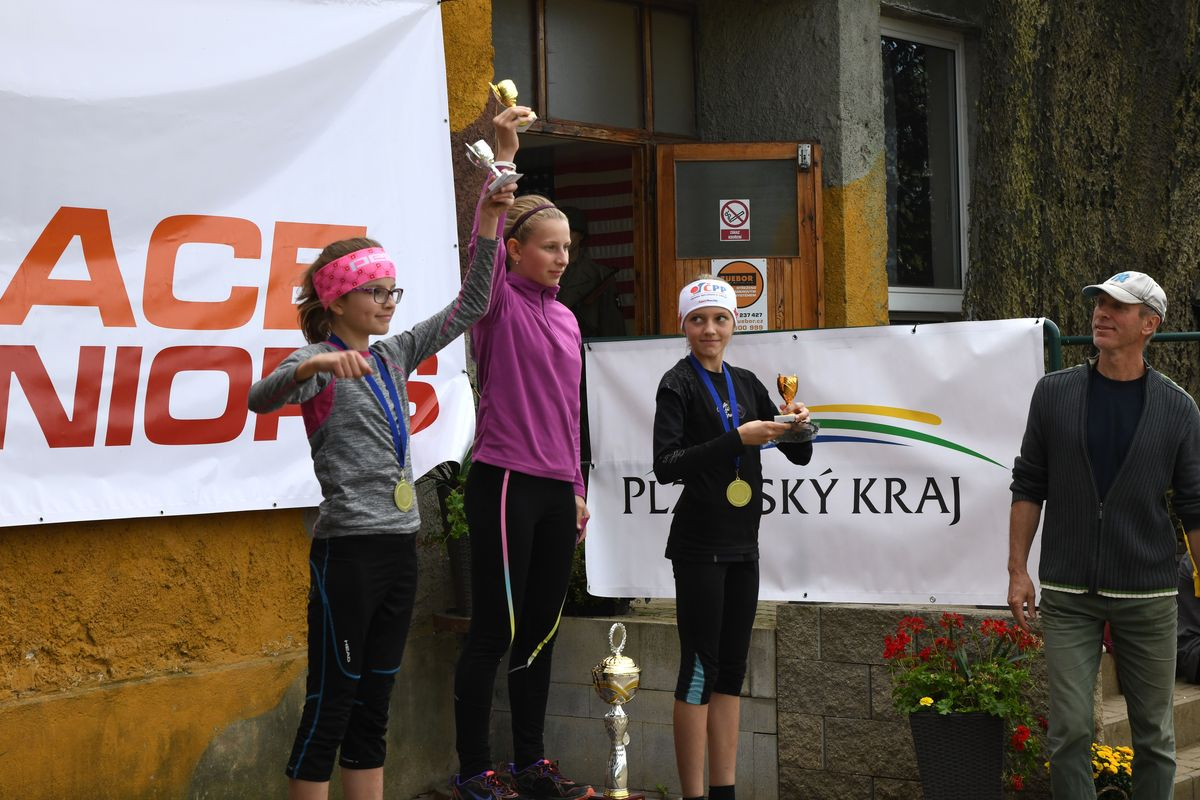 Běžecký terénní závod přes překážky pro děti Race for Juniors Rokycany da