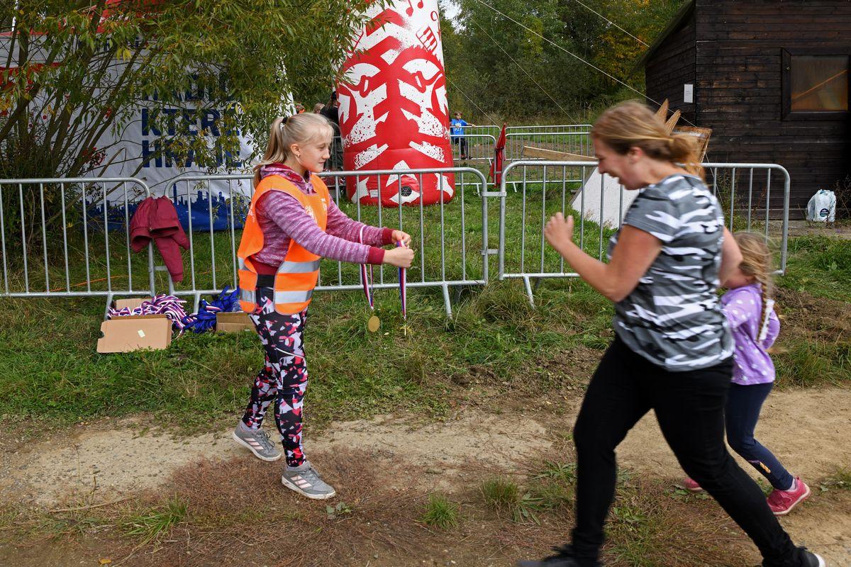 Běžecký terénní závod přes překážky pro děti Race for Juniors Rokycany f
