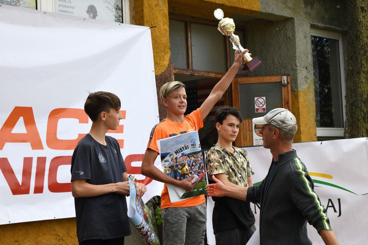 Běžecký terénní závod přes překážky pro děti Race for Juniors Rokycany fa
