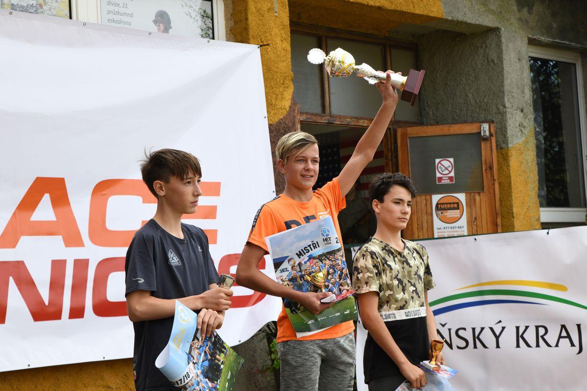 Běžecký terénní závod přes překážky pro děti Race for Juniors Rokycany ga
