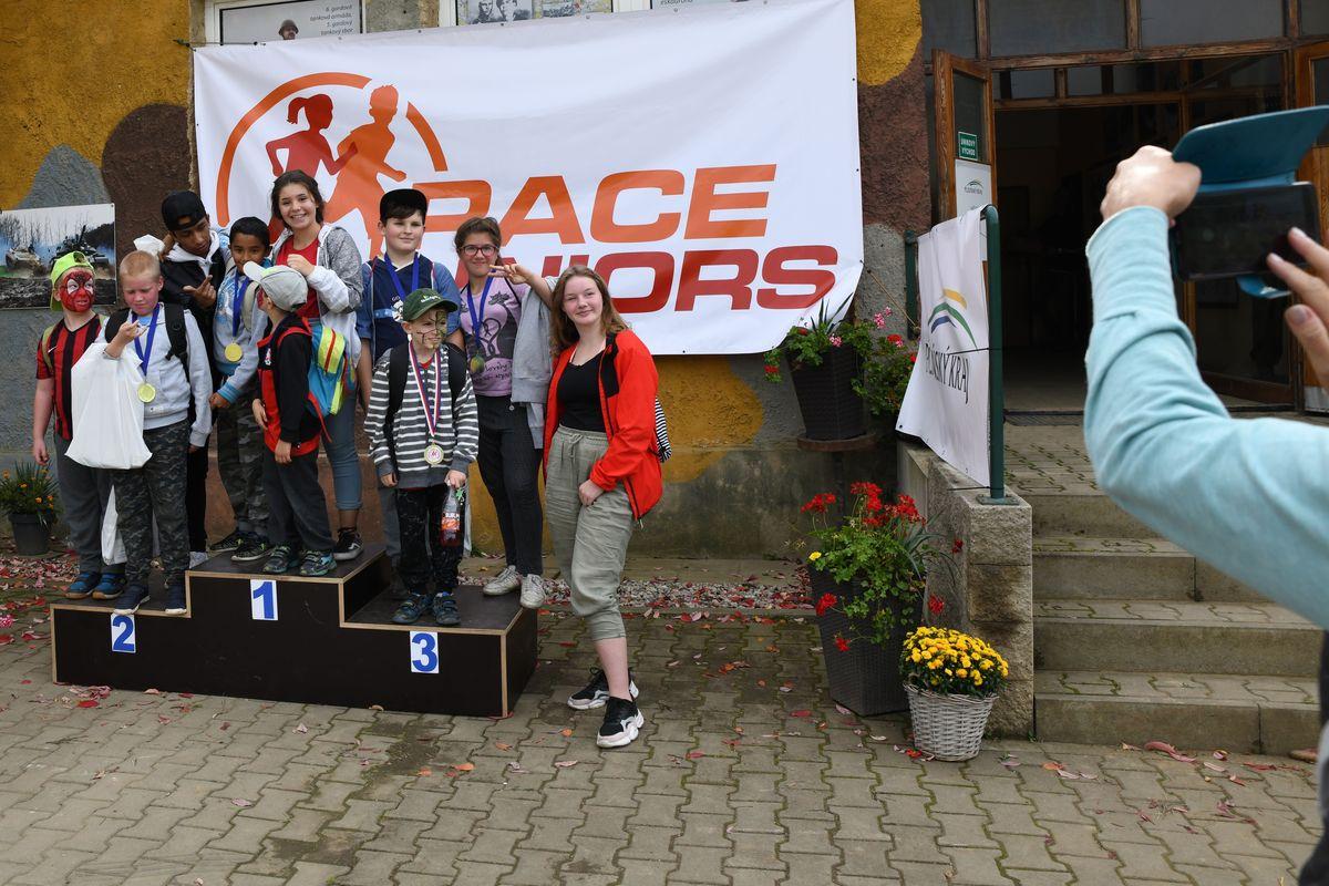 Běžecký terénní závod přes překážky pro děti Race for Juniors Rokycany