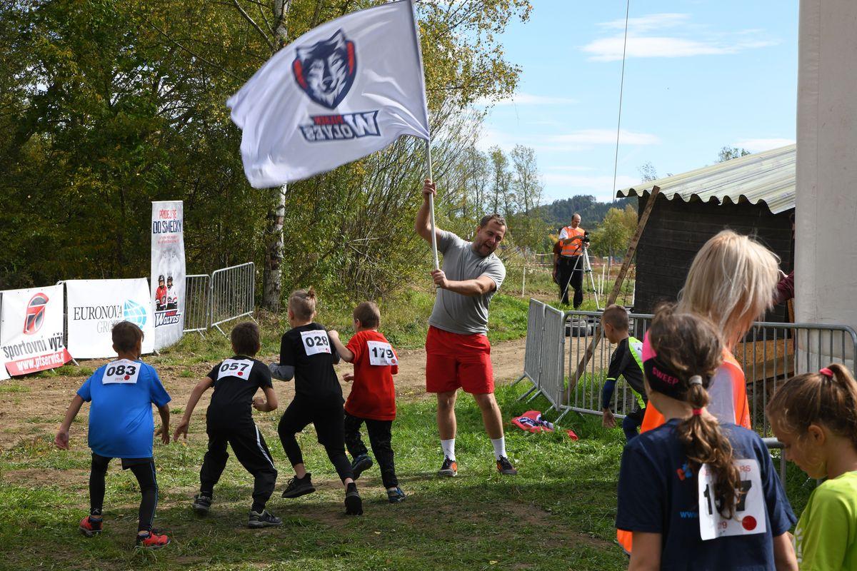 Běžecký terénní závod přes překážky pro děti Race for Juniors Rokycany q
