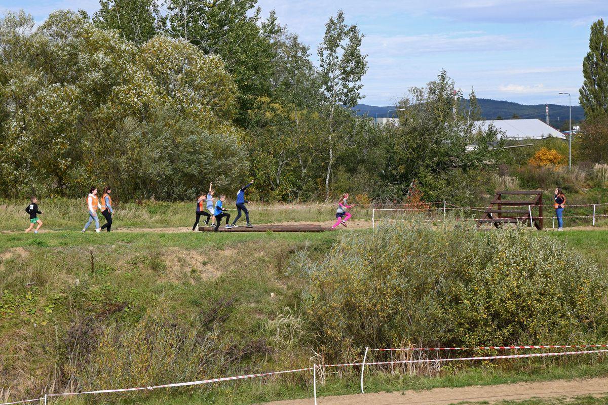 Běžecký terénní závod přes překážky pro děti Race for Juniors Rokycany w