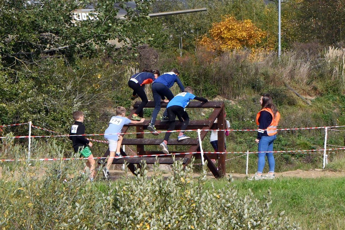 Běžecký terénní závod přes překážky pro děti Race for Juniors Rokycany y
