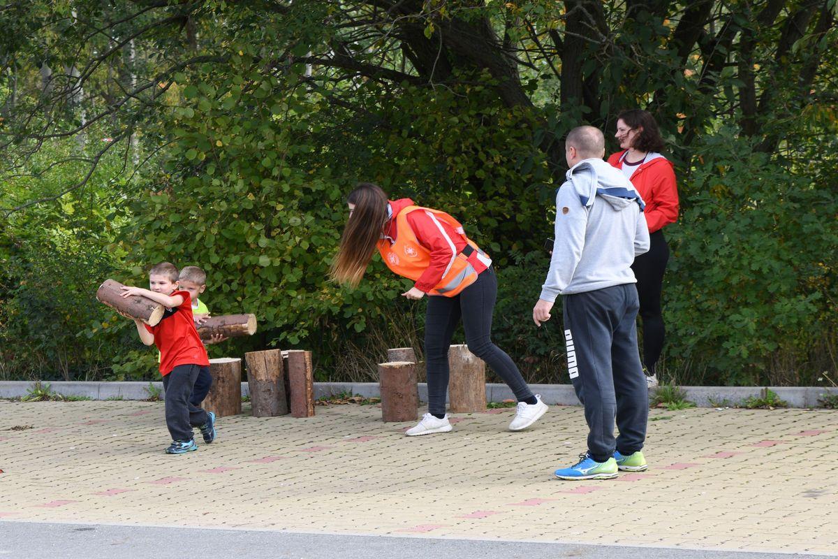 Race for Juniors Rokycany - terénní běžecký závod pro děti v Rokycanech