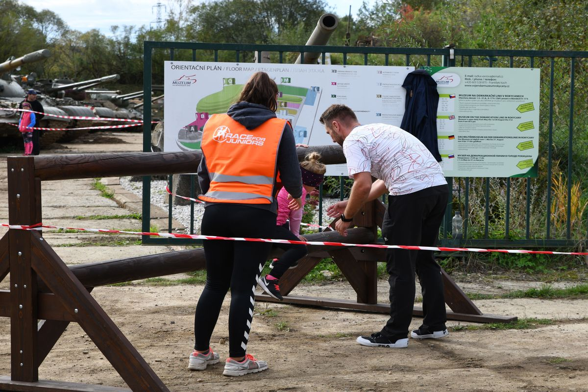 Race for Juniors -akce pro děti v Rokycanech