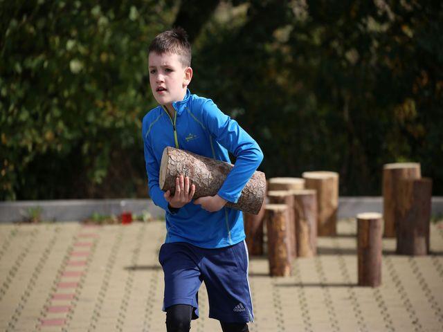 Dětský běžecký závod Race for Juniors - Spolu to dáme