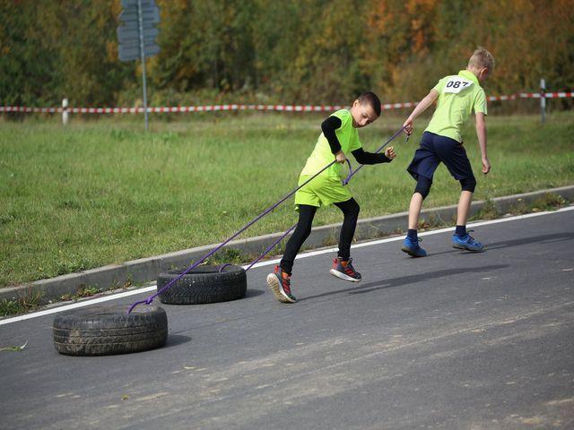 Dětský běžecký závod přes překážky- Racec for Juniors
